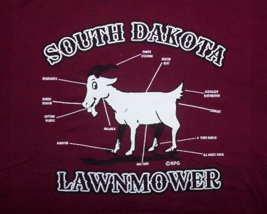 South Dakota Lawnmower T-Shirt